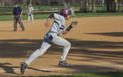 Gray Bee Varsity Baseball Defeats Roselle Catholic