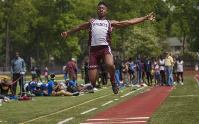 St. Benedict's at Essex County Track Championships
