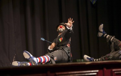 Clowning Around In Newark
