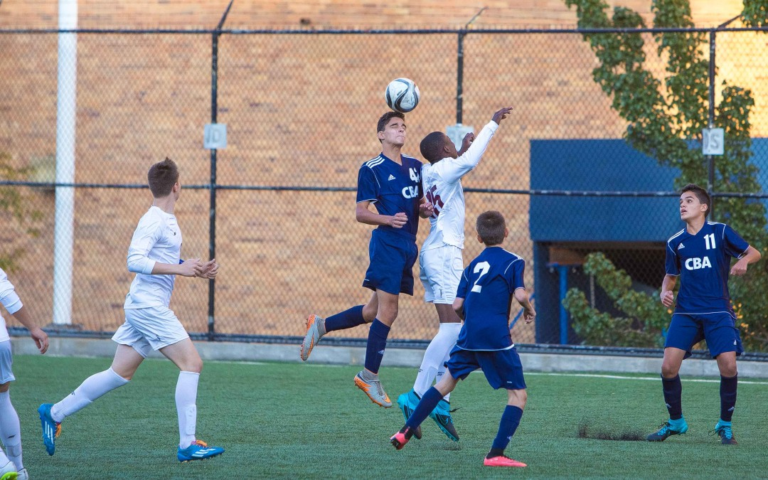 St. Benedict's JV Soccer Defeats CBA.