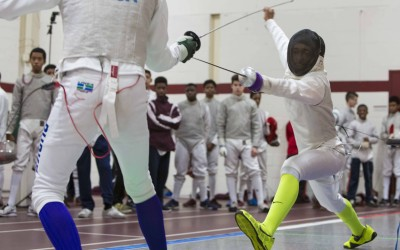 Gray Bee Fencers Fall in Close Match With Masters School