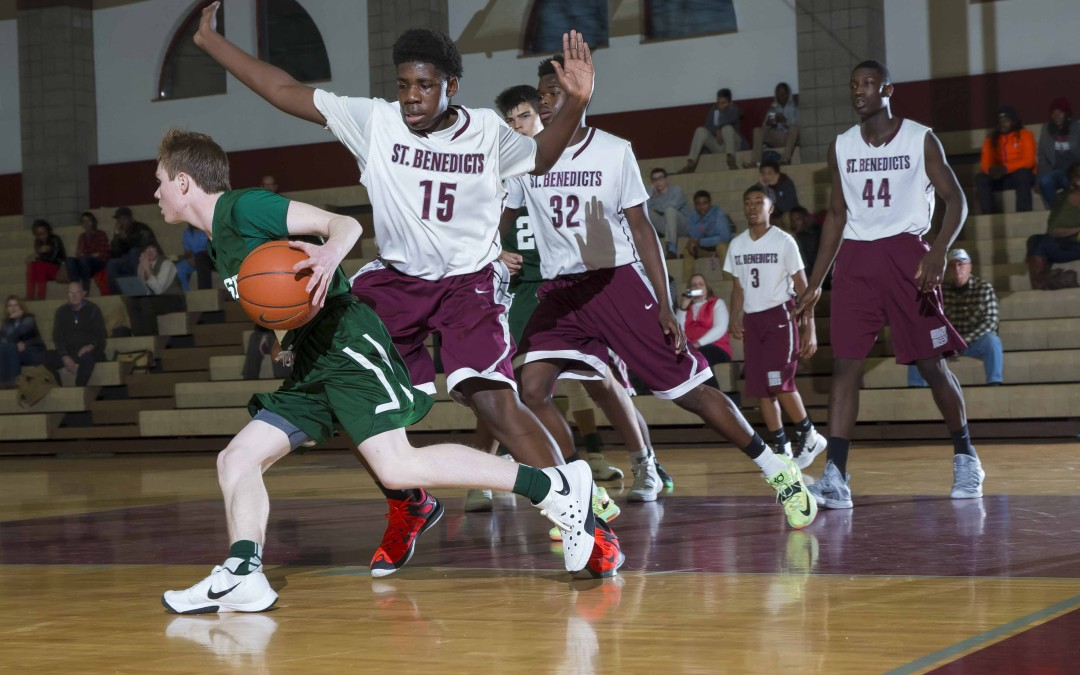 Freshman Basketball Falls To St. Joe's Metuchen