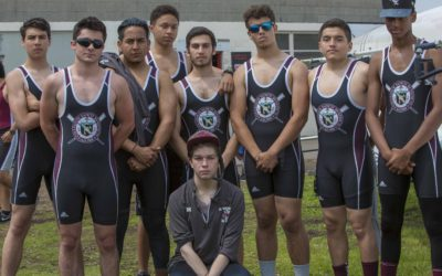 The Gray Bee Crew Team Competes In The Passaic Sprints