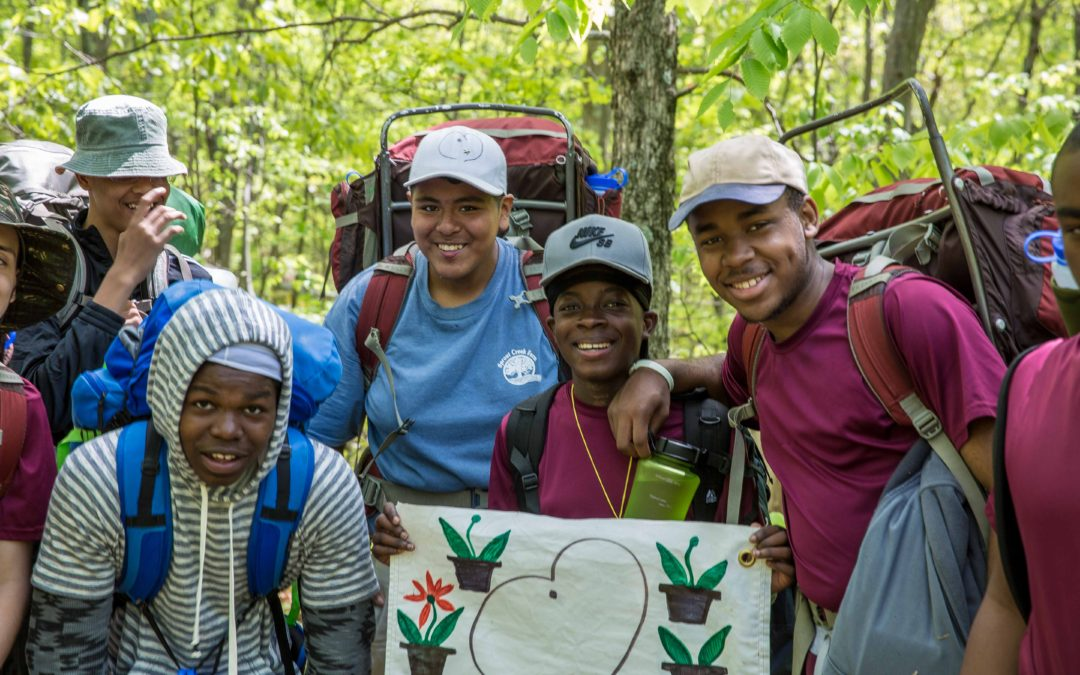 St. Benedict's Backpacking Project 2016