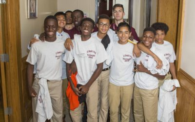 St. Benedict's Prep Class of 2020 Completes the Overnight