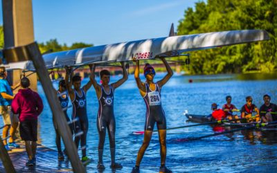St. Benedict's Rowing Team Places at Kingshead Regatta